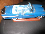 1957 Chevy Convertible Franklin Mint Collectible
