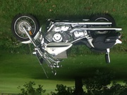 2002 Yamaha V-Star 1100 Custom. Asking $3000.00